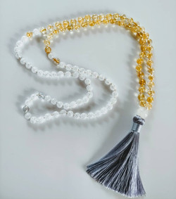 Tassel & color blocking bead segue
