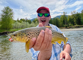 Montana Fly Fishing Day 2  -         Upper Clark Fork