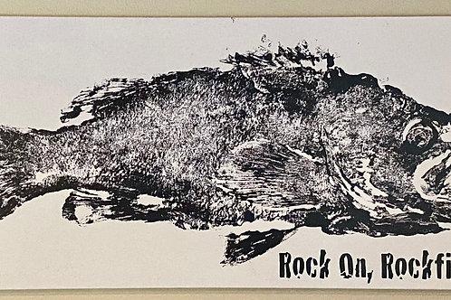 "Rock On Rockfish - Oregon Rockfish Canvas Print 16"" X 32"""