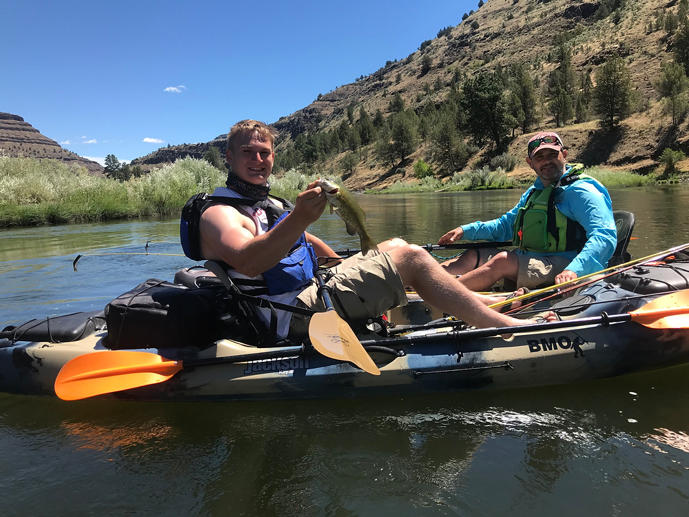 BMO Bass Camp 2018, John Day River