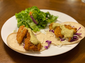Baja Crappie Tacos