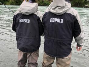 BMO put the New Rapala Rain Pro Rainwear to the test - and it was amazing!