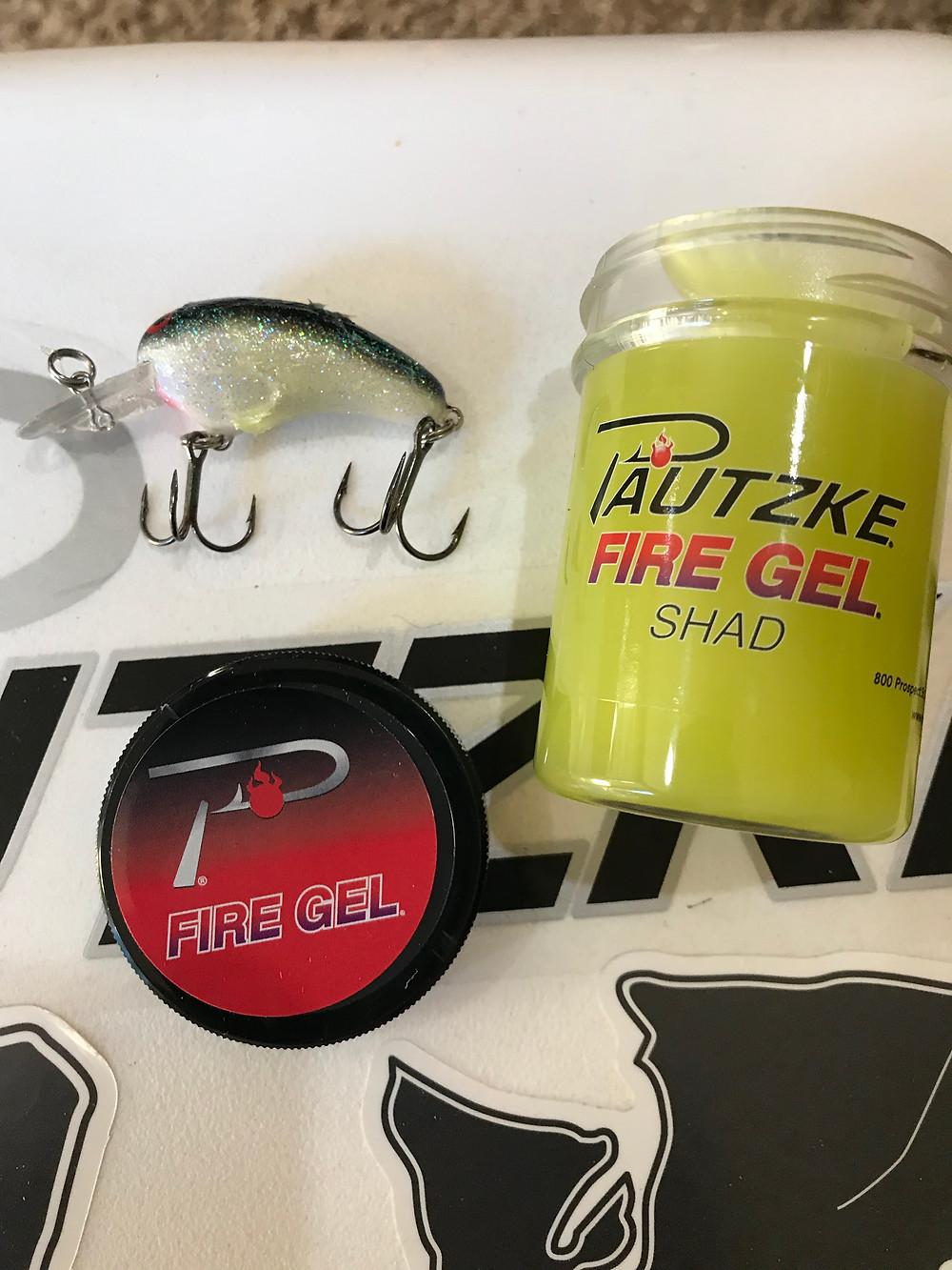 Pautzke Fire Gel Shad Flavor