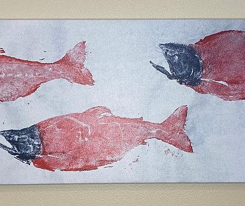 "Kokanee 16"" x 48"" Canvas Print"