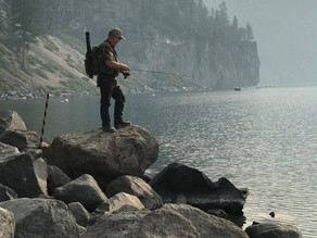 Fishing Crater Lake National Park