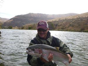 Fall Steelhead on the Deschutes River