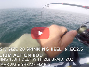We put the new Eagle Claw EC2.5 rods & reels to the test.