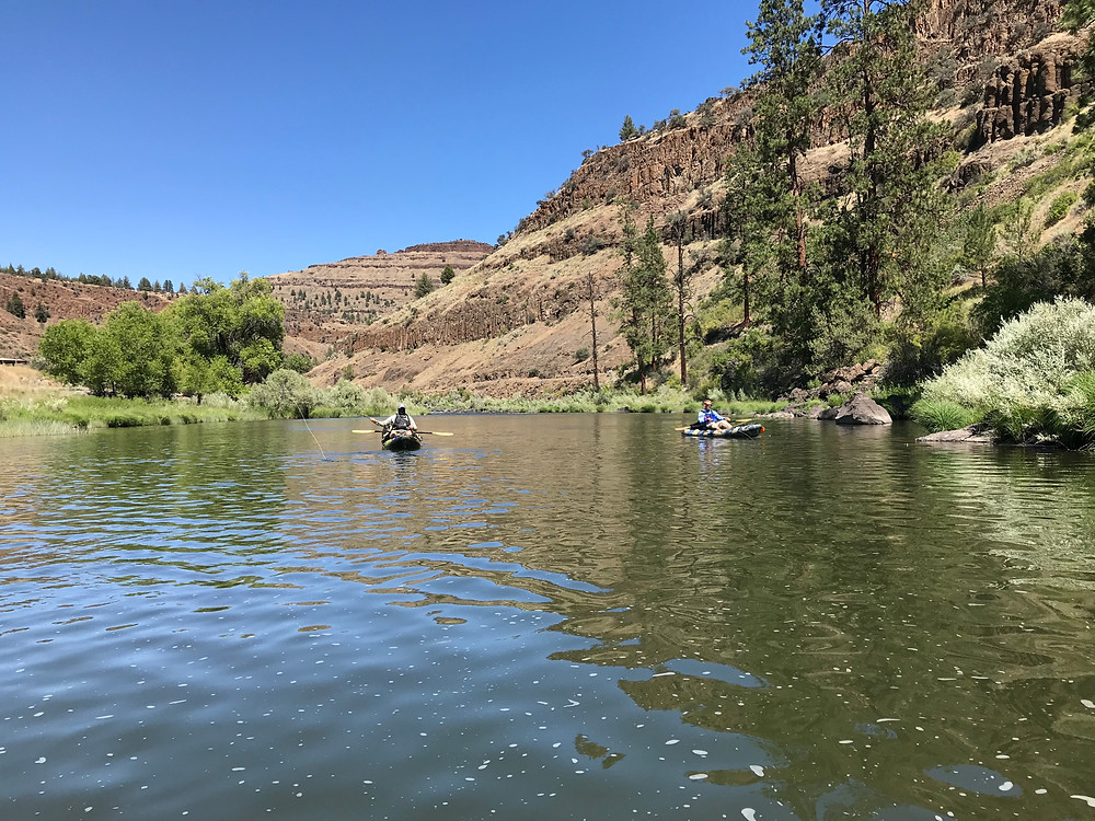 Bill Matthews Outdoors John Day River Spray to Service Creek
