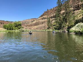 John Day River Spray to Service Creek