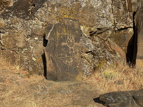 Horse Thief Lake -                                Bass Fishing & Petroglyphs