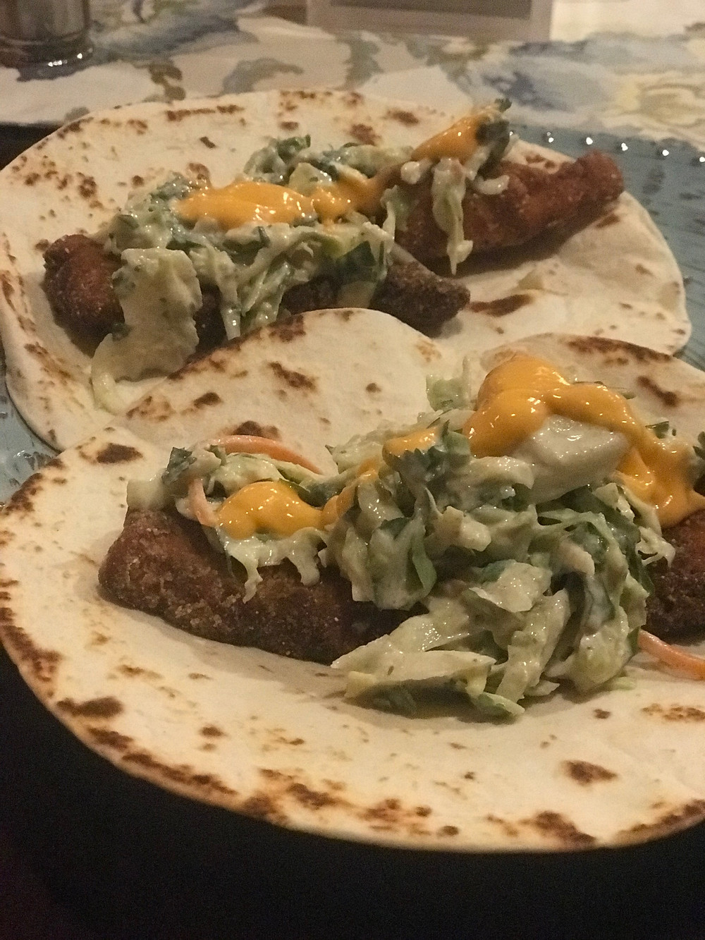 Bill Matthews Outdoors Opakapaka Tacos in Hawaii