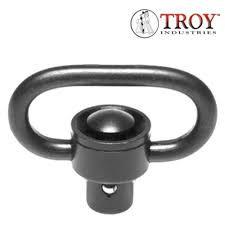 Troy SSQD Swivel Push Button