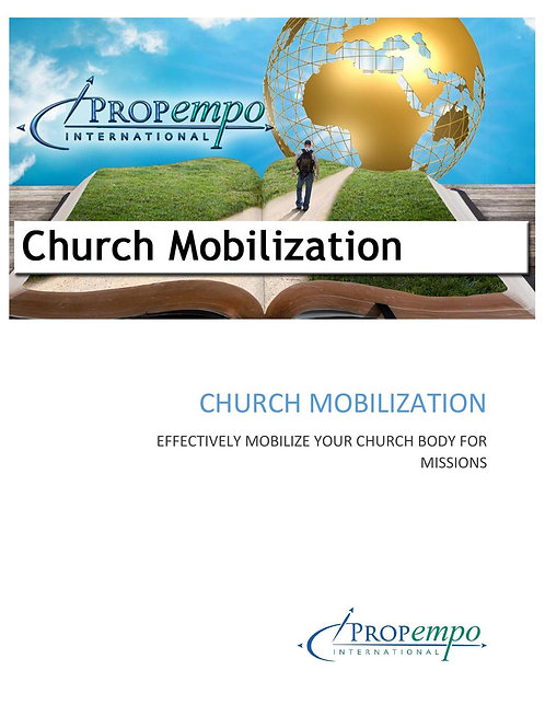 PI Missions Path ebook: CHURCH MOBILIZATION - Effectively Mobilize Your Church