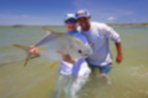 flyfishing for permit