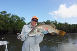 Flyfishing for the iconic barramundi
