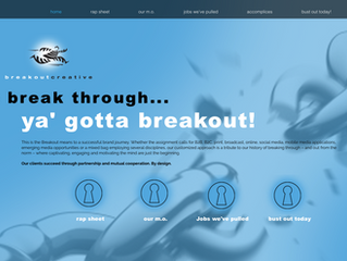 Breakout Creative Launches New Website