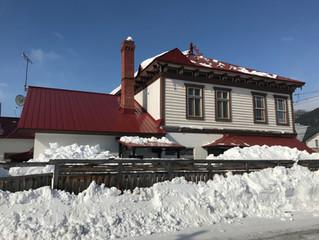 まちの排雪作業とともに、屋根もスッキリしました
