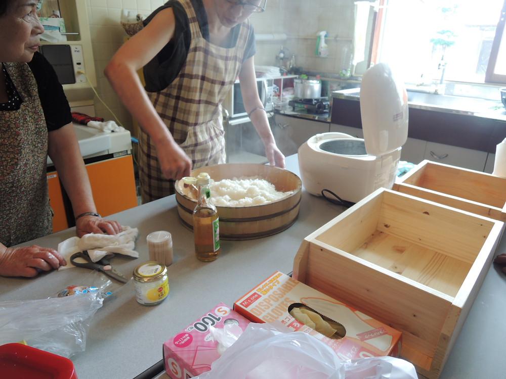 「笹寿司」手作り体験ワークショップ