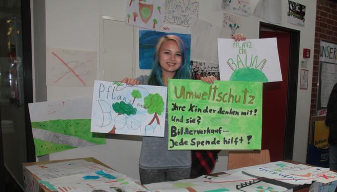 Nachhaltigkeit von Schülern für Schüler – der Umwelttag an der Christophorusschule im CJD Braunschwe