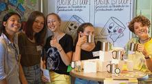 Leibnizschüler mit Tauschrausch und Upcycling im Einsatz für mehr Nachhaltigkeit