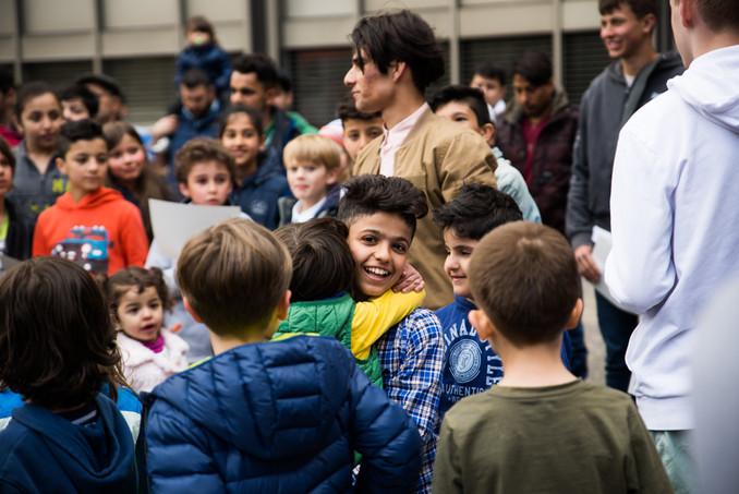 Ein Vielplatz entsteht - Das Projekt get-together an der Helene-Lange-Schule Wiesbaden
