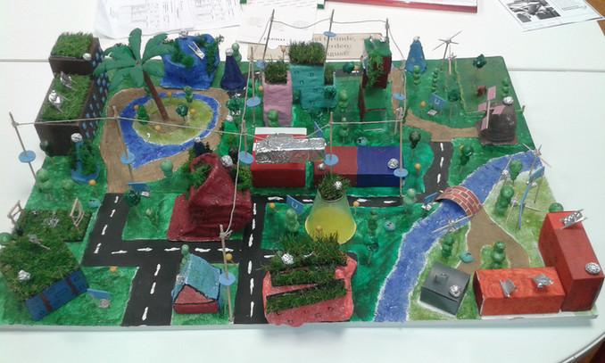 Eine Zukunftsstadt, die auf Nachhaltigkeit setzt