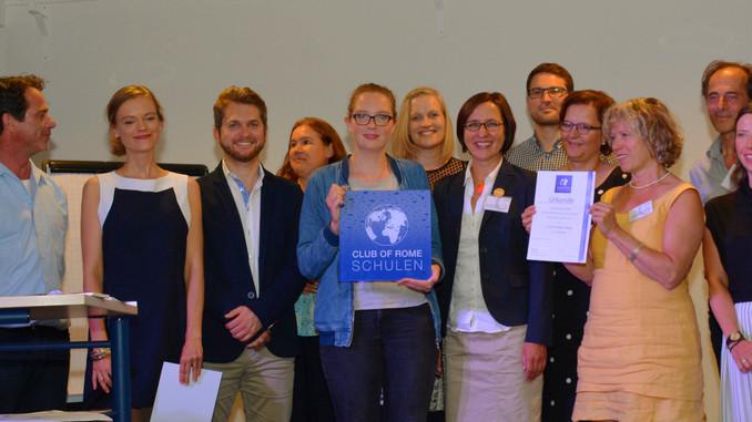 Die Emile Montessorischule München Südost wurde in das Netzwerk der CLUB OF ROME Schulen aufgenommen