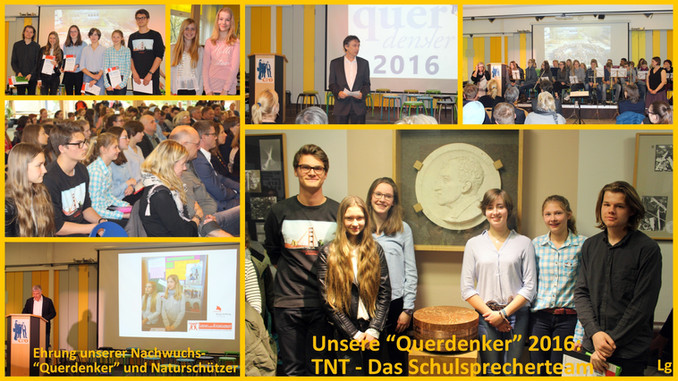 Querdenker 2016 am CvO