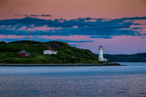George's Island Sunset, Halifax NS