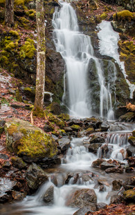 Jane's Waterfall, Rogart Mountain Trail Earltown