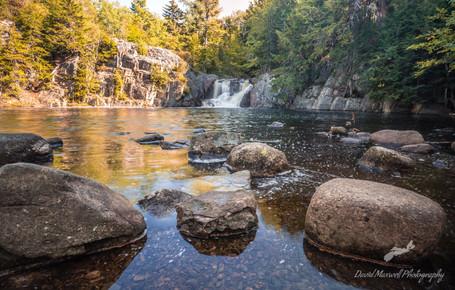 Crystal Falls, Greenwood