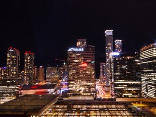 Toronto - Night Time Photography - Christmas