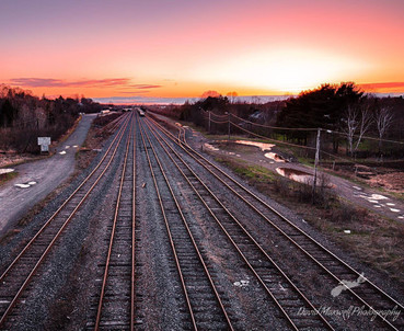 Truro Rail Way Tracks, NS
