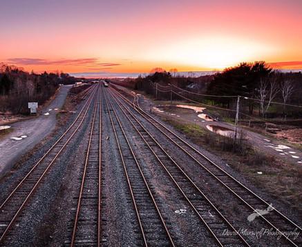 Truro Rail Way Tracks, NS
