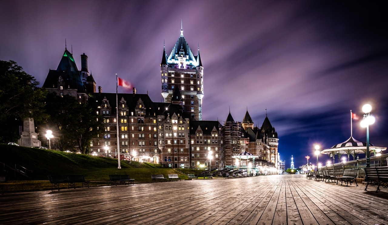 le chateau frontenac, Old Quebec