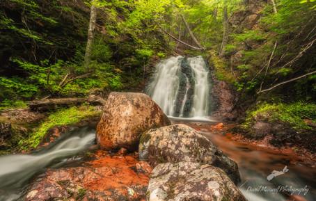 Horse Pasture Falls, Folly Lake