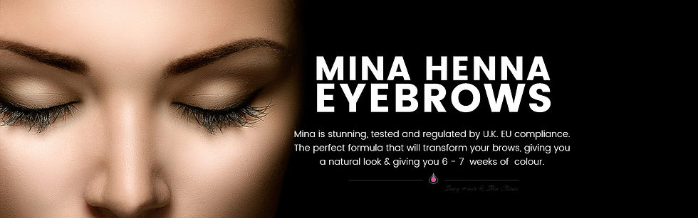 mina henna brow bodytoxing