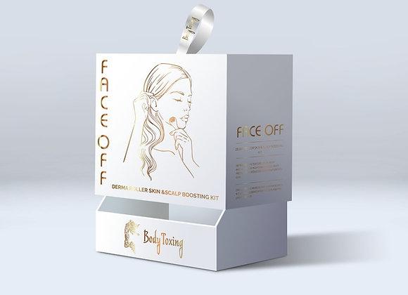 Face Off - Derma Roller Skin & Scalp Boosting Kit