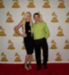 Chuck Ebert and Tori Martin Grammy