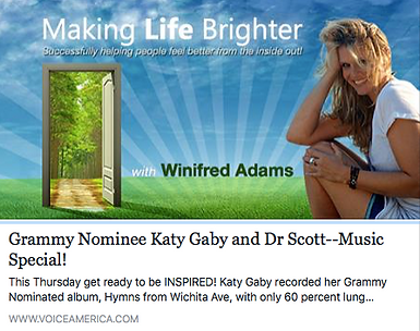 Katy Gaby - Winifred Adams - Making Life Brighter