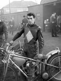 Ivan Mauger riding for Newcastle Diamonds speedway