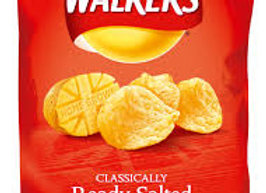 Walkers Ready Salted Crisps  1 x 30g