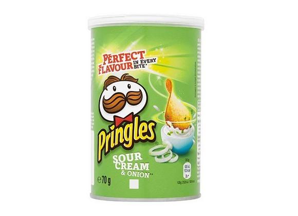 Pringles Sour Cream and Chive - 70G tub