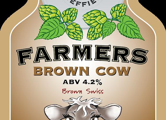 Farmers Brown Cow - Bradfield - 1 x 500ml NRB