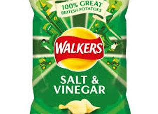 Walkers Salt & Vinegar Crisps 1 x 30g