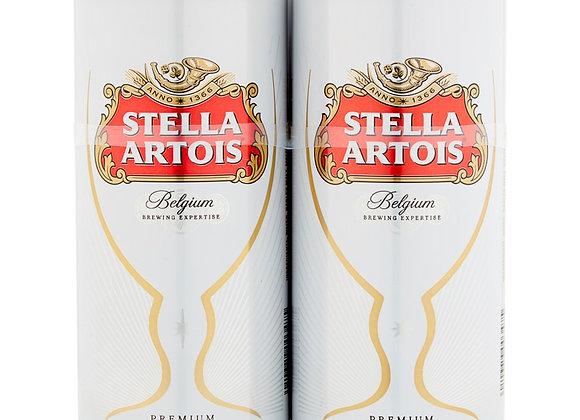 Stella Artois 4 x 568ml Pint Can