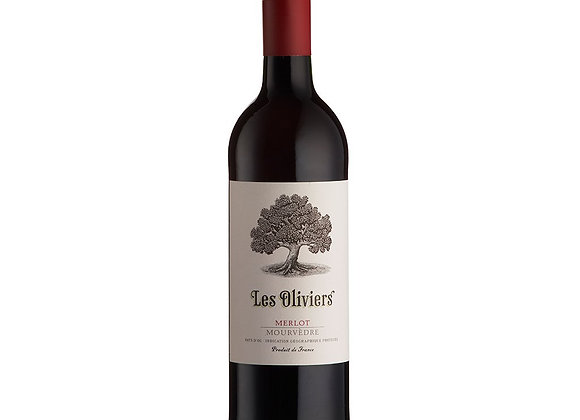Les Oliviers Merlot Mourved - 1 x 75cl NRB