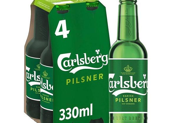 Carlsberg- 4 x 330ml