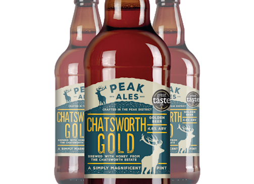 Chatsworth Gold - Peak Ales - 1 x 500ml NRB