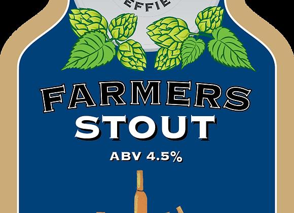 Farmers Stout - Bradfield - 1 x 500ml NRB